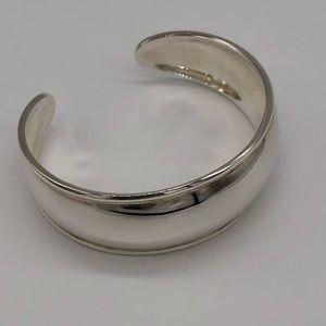 Silpada Sterling Silver Smooth Cuff Bracelet B1407